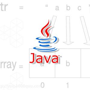Javaで文字列を1文字ずつ配列に格納する方法