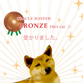 OracleのBronze DBA 12c試験の感想と勉強方法